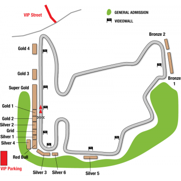 Harta Hungaroring Circuit